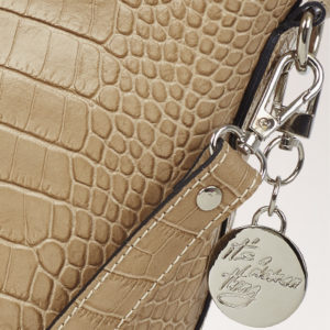 LEATHER MADE IN ITALY CROCO